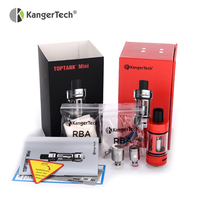 Originele Kanger Toptank Mini Clearomizer 4 ML Kangertech Toptank Mini Atomizer Voor Kanger Topbox Mini Starter Kit 1 Stks/partij