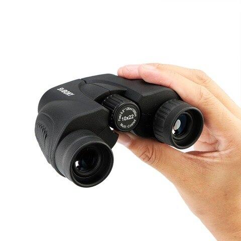 svbony binoculos 10x22 hd telescopio porro prisma