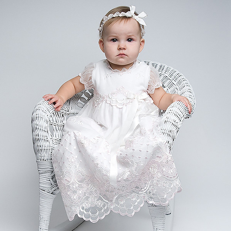 New Baby Clothes For Wedding Gowns Ankle- Length Baby Girl Clothes Lace Christmas Dresses for Communion Mother Daughter Dresses цены онлайн