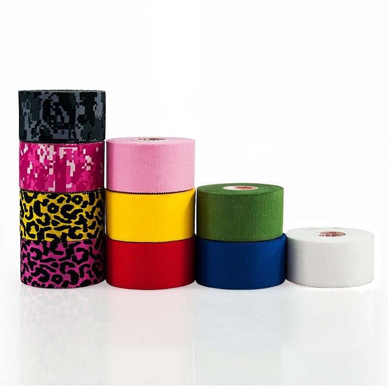 Gratis Verzending Een Roll 3.8 cm * 7.3 m Kinesiologie Tape Sport Tape Zigzag edge Gewrichten Protector Atletische plakband