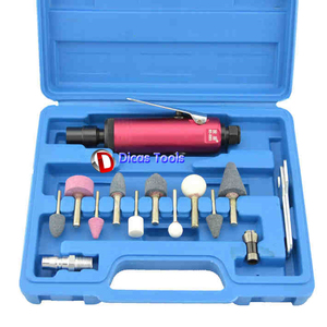boutique type pneumatic carve tool set wind grinding machine air grinder miller for mechanics millstone and polishing operations