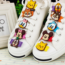Children 's creative classic cartoon lace buckle sports shoes cloth shoes decorative accessories accessories shoes deduction sho