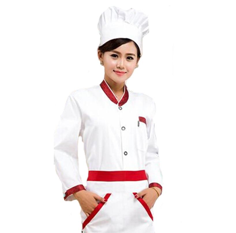 vintage collar women chef jacket cook clothes japanese restaurant