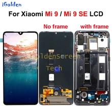 Pantalla LCD Original para Xiaomi Mi 9 MONTAJE DE digitalizador con pantalla táctil, piezas de repuesto, Mi9 SE