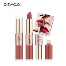 O.TWO.O 2 in 1 Matte Lipstick Long-lasting Waterproof easy t