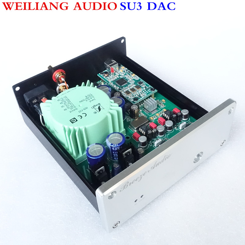 WeiLiang Audio & Brezza audio SU3 ESS9018 asincrono USB decoder DAC