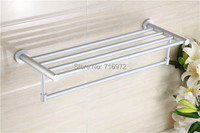 Free Shipping Wall Mounted Space Aluminium Towel Racks,Towel Rail, Towel Holder,Bathroom Accessories Wholesale 5227