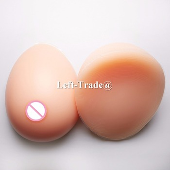 3200g H cup Flesh Sexy Soft Silicone Fake Breast Boobs Transvestite Feminine False Breast Forms