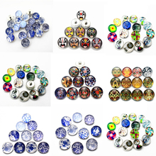 Newest 10pcs/lot ethnic style mask Snaps Buttons 18mm Snaps Charms Fit Ginger Snaps Bracelets&Bangles Jewelry