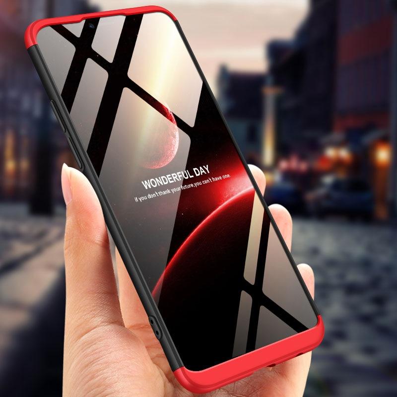 For OPPO Realme C1 Case 360 Degree Full Body Cover Case For OPPO Realme C1 Hybrid Shockproof Case With Tempered Glass RealmeC1