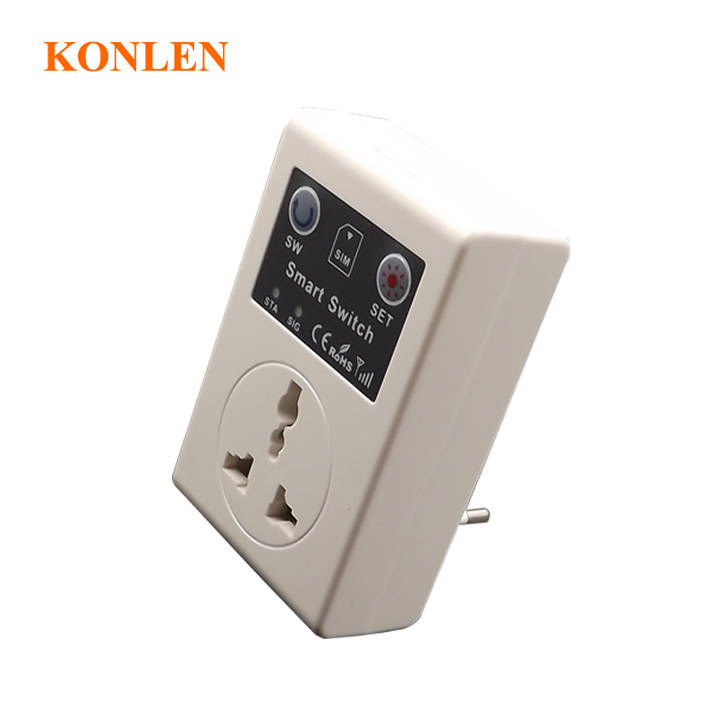 Security & Protection Beautiful 16a Eu Gsm Power Socket Remote Control Switch Relay Smart Intelligent Sockets Outlet 3000w Sms Call Android App Home Automation