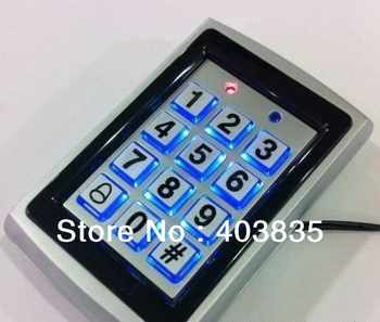 7612 Metal Rfid Access Control Keypad Support 1000 Users 125KHz ID Card Reader Electric Digital Password Door Lock