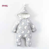 Newborn Baby Rompers Baby Boy Girl Clothes Fashion Autumn Winter Cotton Infant Jumpsuit Long Sleeve Rompers