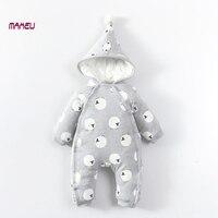Pasgeboren Baby Rompertjes Baby Jongen Meisje Kleding Mode Herfst Winter Katoen Baby Jumpsuit Lange Mouw Rompertjes Kostuums Baby Romper