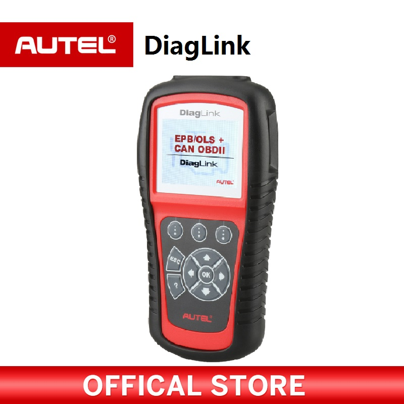 Autel Diaglink OBDII EOBD Auto Diagnostic Tool OBD II Code Reader Scanner for OBD2 EPB ABS Oil service PK MD805 MD802 obd2 scanner launch creader 8001 car code reader full obdii eobd auto diagnostic scanner tool with abs srs epb oil service