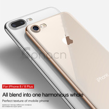 Luxury Soft TPU case For iPhone 8 7 Plus 6 6S Cover Silicone Transparent case Full Cover For iPhone 6 6S Plus 8 7 Protective
