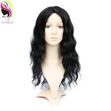 Feibin синтетические кружевные передние парики для черных женщин