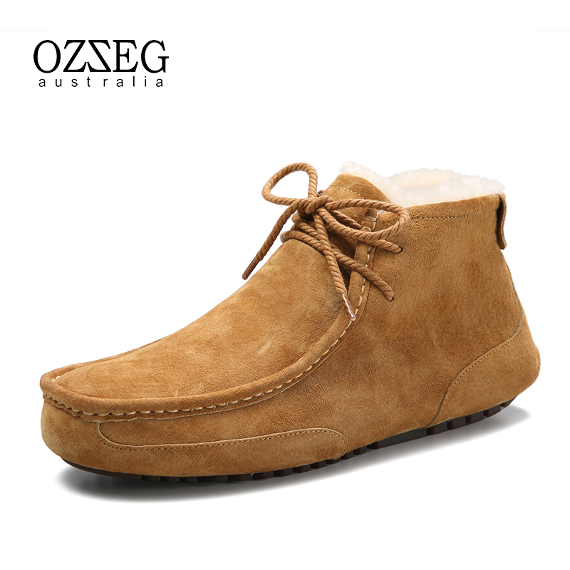 Brand Casual Shoes Men Winter Warm Wool Fur Hand Made Shoes Top Quality Solid Lace-up Man Fashion Flat with Genuine Leather Shoe hot sale 2016 top quality brand shoes for men fashion casual shoes teenagers flat walking shoes high top canvas shoes zatapos