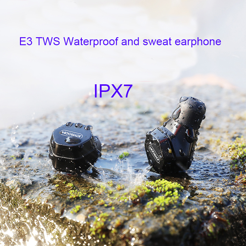2018 new E3 wireless bluetooth mini in-ear TWS IP7 Waterproof and sweat earplugs earphone for IOS android mobile phone portable multifunction wireless instant translation business bluetooth in ear earphone for ios android mobile phones