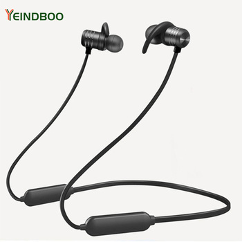 YEINDBOO Bluetooth Earphone Sports Wireless Headphones Stereo Magnetic Bluetooth Headset For Phone Xiaomi IPhone Android