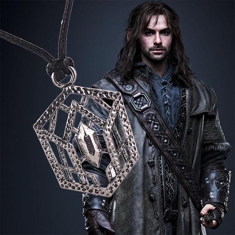 King Thorin Oakenshield Necklace Buckle Pendant LOTR