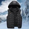 Envío libre otoño y el invierno masculina más el tamaño de algodón chaleco kaross de grasa clothing extra grandes de los hombres de algodón acolchado chaqueta de algodón 8xl