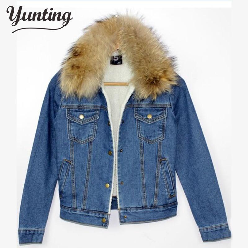2019 neue herbst winter frauen kurze denim jacke mantel schlank - Damenbekleidung