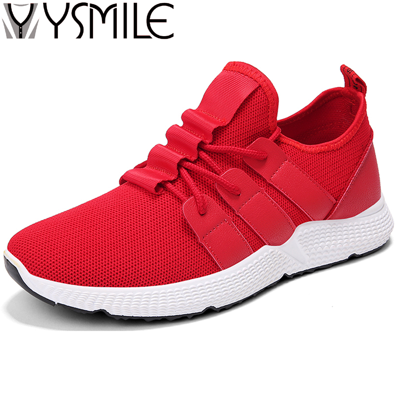 High Quality Men Casual Shoes Black Brand Footwear Fashion Sneakers Male Walking Shoes Thick Sole Wedges Men Rubber Shoes Red