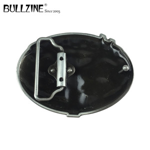 "Image 3 - Bullzine סיטונאי מערבי מכונאי כלי קאובוי ג ינס מתנת חגורת אבזם גימור בדיל FP 03643 עבור 4 ס""מ רוחב החגורה"