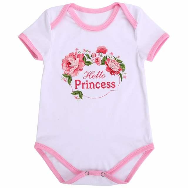 4c4a3744a037 Online Shop 0-2Y Baby Girls Clothes Cotton Suit Newborn Bebe ...