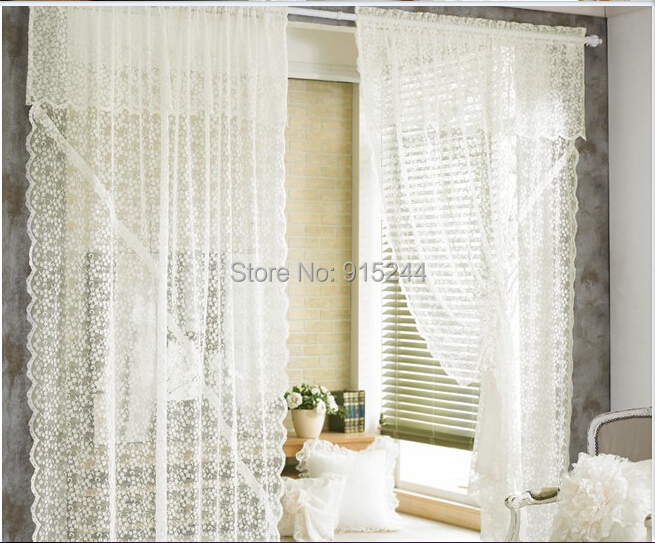 Room Curtains Picture More Detailed About White Lace