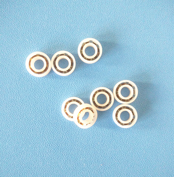 Free shipping 684 full ZrO2 ceramic deep groove ball bearing 4x9x2.5mm good quality P5 ABEC5 6906 61906 full zro2 ceramic deep groove ball bearing 30x47x9mm good quality
