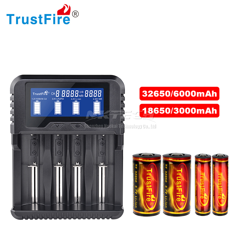TrustFire TR-020 18650 Battery Chargers USB Power Bank QC3.0 Capacity//Volt//Temp