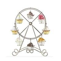 Cup Cake Đứng Đối Wedding Party Creative Ferris Wheel Người Giữ Cupcake Pastry Cụ Phụ Kiện Nguồn Cung Cấp