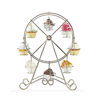 Cup Cake Stand For Wedding Party Creative Ferris Wheel Cupcake Holder Pastry Tools Accessories Supplies