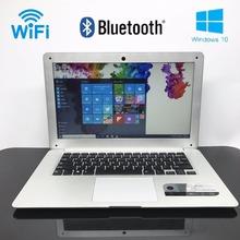 Windows10 14 pulgadas 4g ram 64g ssd en-tel atom x5-z8300 hdmi wifi sistema portátil con 8000 mah batería bluetooth usb3.0(China (Mainland))