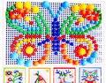 Гриб гвоздя игрушки пластиковые головоломки Здание развивающие игрушки 3D Головоломки Игрушки Подарок Каваи Детей Игрушки Для Детей