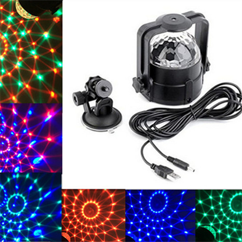 Stage Lights, 3 W Roterende Magic Effect Bar Disco DJ Party USB LED - Vakantie verlichting