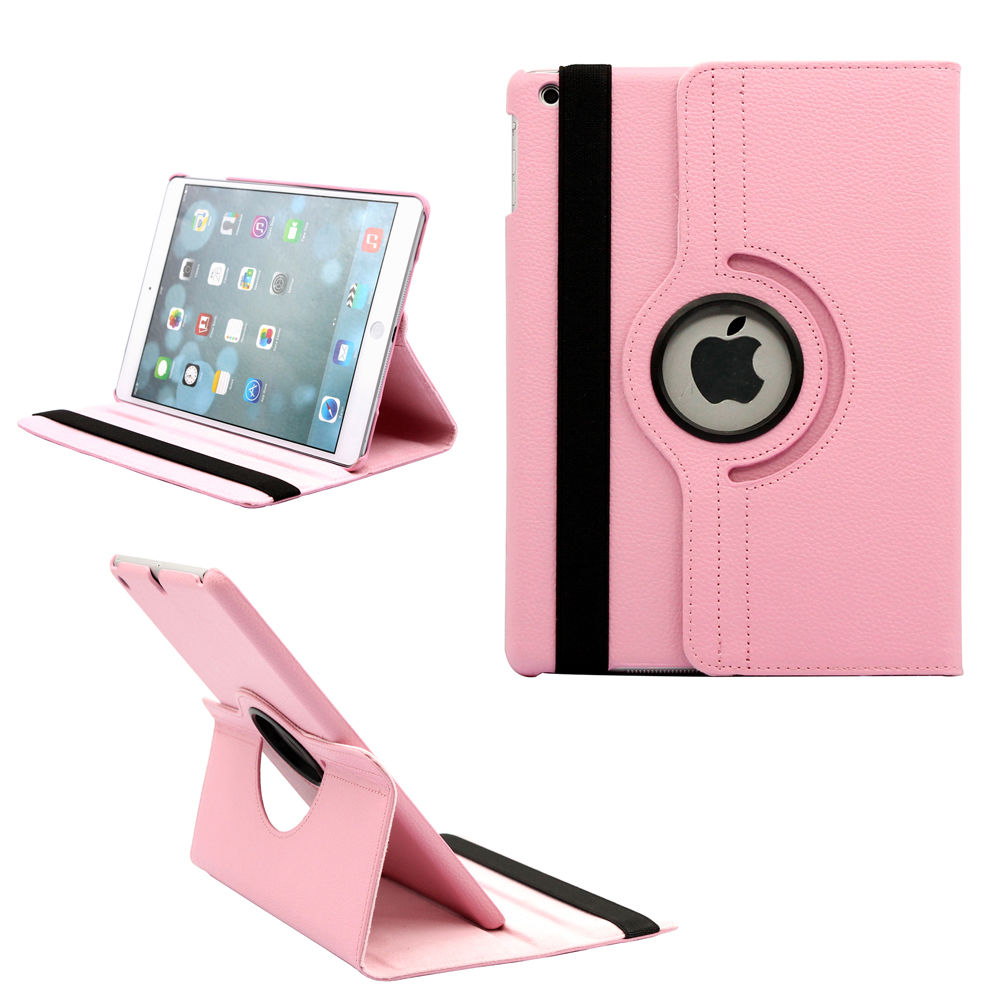 9.7'' Tablet Case for iPad 2 iPad 3 iPad 4 360 Case Smart Magnetic Rotation Stand A1430 A1459 Cover for iPad 4 Cover 360 Stand (7)