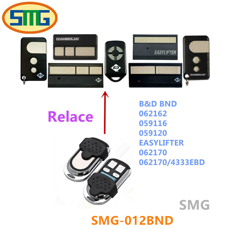 BND B&D garage doors ,openers Roller doors replacement remote control transmitter DHL free shipping