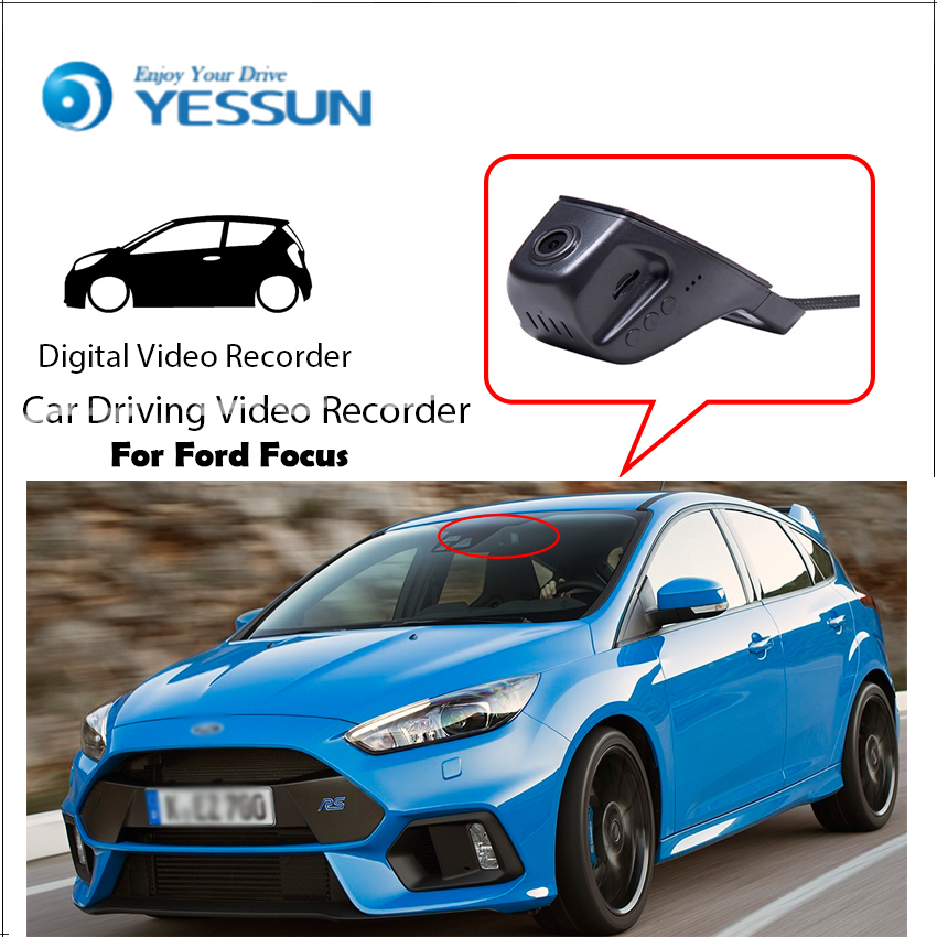 For Ford For Focus/ Car Driving Video Recorder DVR Mini Control APP Wifi Camera Black Box / Registrator Dash Cam Original Style for kia carnival car driving video recorder dvr mini control app wifi camera black box registrator dash cam original style page 6