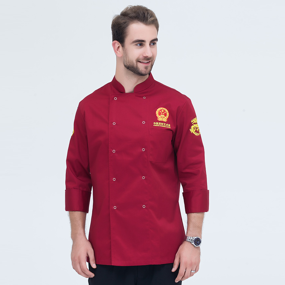 New Style Chef Jacket Autumn & Winter  Long Sleeve Professional Chef Uniform Restaurant Kitchen Man And Woman Work Wear Coat