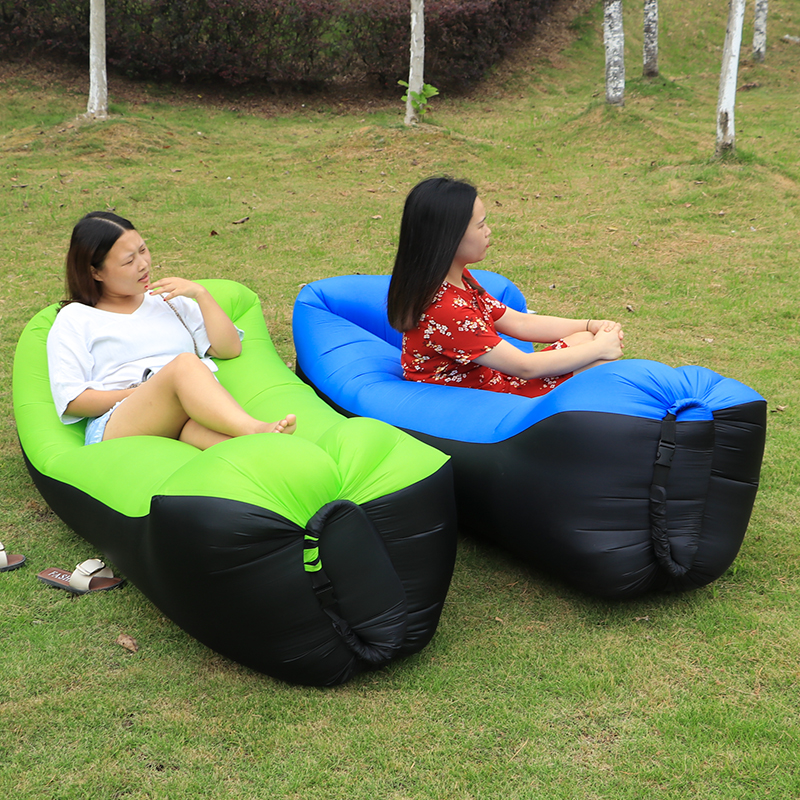 Sleeping bag camping equipment lazy bag inflatable air sofa beach air bed chair hamac gonflable lounger sofa hinchable laybag norent brand waterproof inflatable mattress camping beach picnic air sofa outdoor swimming pool lazy bed folding portable chair