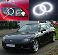 Para Mazda RX8 Rx-8 2004-2008 Excelente Ultrabright led Angel Eyes iluminação smd led Angel Eyes kit de Halo Anel
