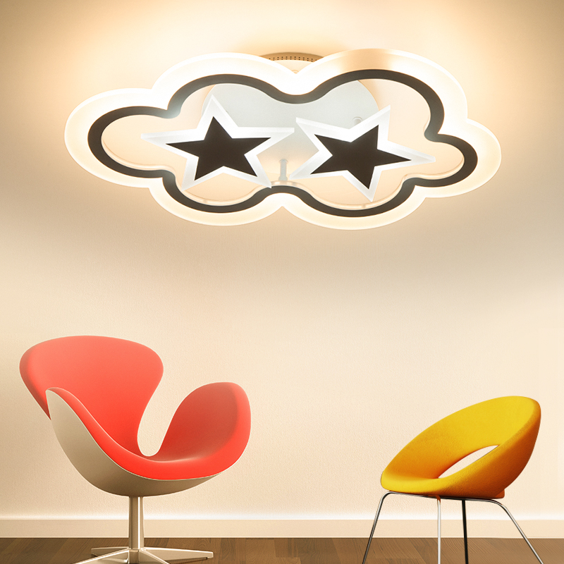 Modern ceiling lights Creative Aluminum LED living room fixtures bedroom ceiling lamps Nordic Novelty Iron Ceiling lighting modern led ceiling lights nordic living room fixtures novelty crystal bedroom ceiling lamps iron glass ceiling lighting