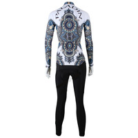 new sale white long sleeved sports unique winter womens jerseys MTB Anti sweat