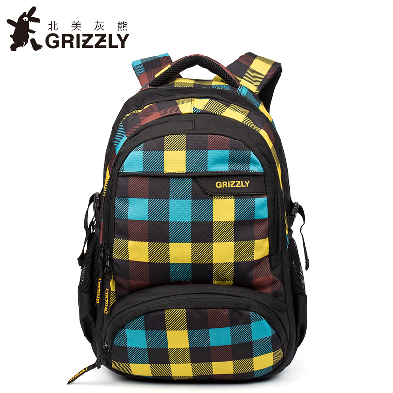 GRIZZLY New Fashion Laptop Men Backpack for Teenager Boys Multifunction Mochila Waterproof School Bags Large Capacity Travel Bag grizzly new fashion laptop men backpack for teenager boys multifunction mochila waterproof school bags large capacity travel bag