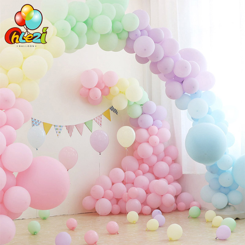 Pastel Latex Balloons Macaron Colorful For Party Wedding Ballons 5//inch