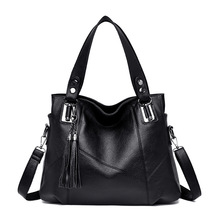 Big Tote Bags for Women Leather Handbags Luxury Brand High Quality Ladies Crossbody