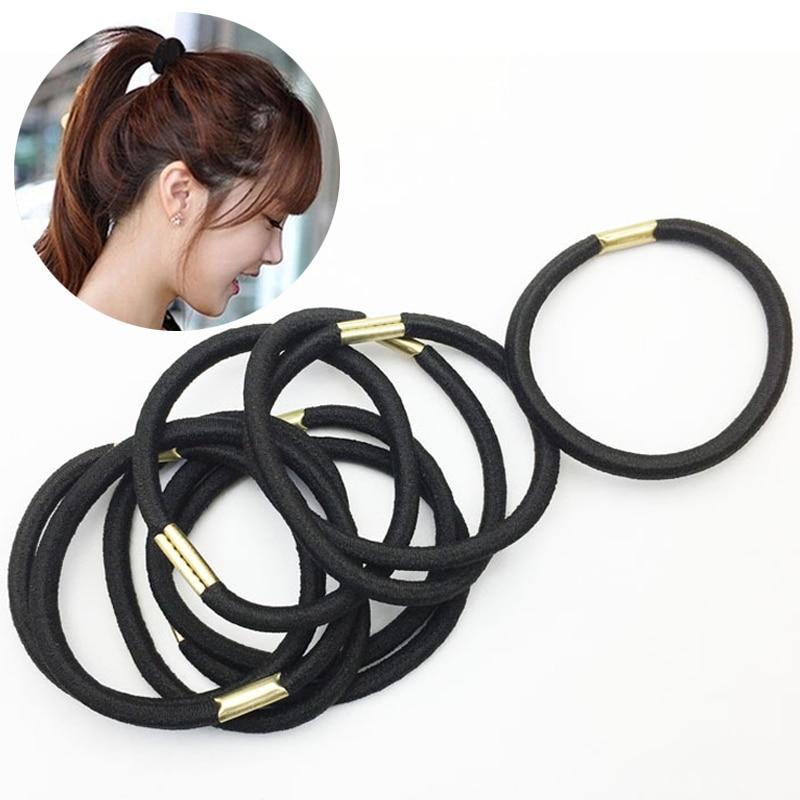 Efficient Ponytail Children Women Girl Holder Band Rabbit Ear Shape Elastic Rubber Band Hair Ties Sales Of Quality Assurance Men's Headbands